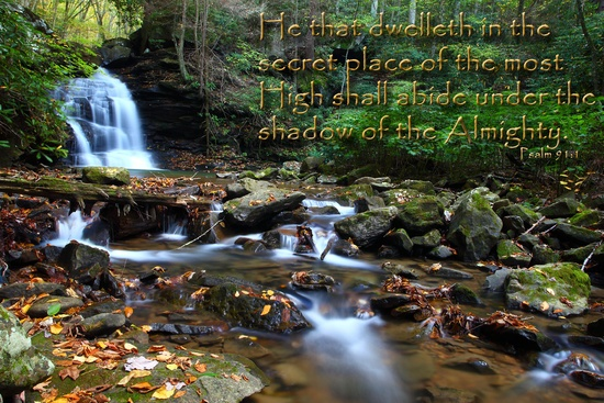 Psalm 91.1 Dwelleth Secret Place Shadow Almighty